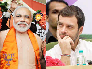 ET did one of the largest surveys ahead of Battle 2014 and its predictions show a clear surge building up in favour of the saffron party in the cowbelt.