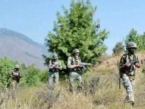 Pakistan Rangers resorted to unprovoked firing on Indian out posts during suspected movement of some persons along the Indo-Pak border.