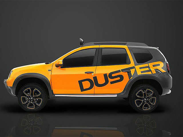 Renault Duster Detour Concept Unveiled Renault Duster