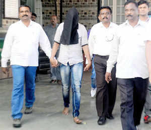 The 23-year-old photojournalist in the Mumbai gangrape case identified her assaulters and fainted inside the court during her four-hour deposition following which she was taken to a city hospital.