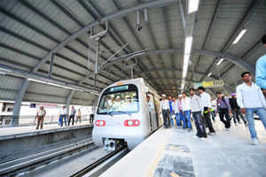 Delhi Metro Rail Corporation started underground tunneling work between INA and South Extension on the Mukundpur-Shiv Vihar corridor as a part of its Phase-III.
