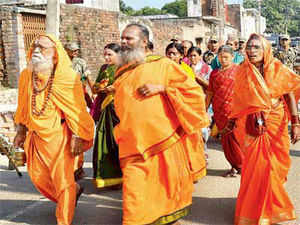 VHP's yatra was to give a call for building a Ram temple there. The state government banned the yatra citing saying the matter was sub judice.