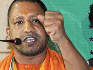 BJP MP Yogi Adityanath and 24 others accompanying him to VHP's 'Sankalap Diwas' rally in Ayodhya, were today arrested at the railway station here as a preventive measure.