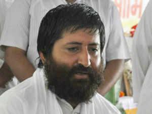 The Gujarat Police today raided an ashram in Ariyari village in Bihar's Darbhanga district in search of Narayan Sai, son of self-styled godman Asaram Bapu who is facing rape charges