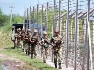 BSF lodged a strong protest with Pakistan Rangers over the incidents along the International Border (IB) in Jammu.