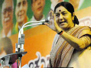 """""""The border violations by Pakistan is a matter of grave concern. The more our government talks, more the violations,"""" Swaraj said on Twitter."""