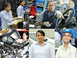 Automakers are increasingly seeing the advantages of having women manning their production machines. The two biggest gains: increase in productivity and efficiency.