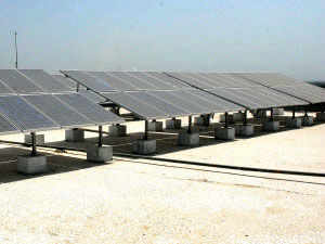 The company is setting up a 25 MW solar power plant in Tamil Nadu and another 10 MW facility in Chhattisgarh.