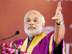"""Modi attacked Congress over the coal blocks allocation scam, saying """"black smoke"""" has stained it. Congress said Modi's """"hands are red"""" in connection with Godhra."""