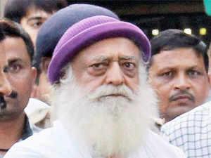 Police raided an ashram of controversial godman Asaram Bapu at Bil village suspecting that some aides of his son Narayan Sai,were hiding there