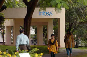 The decision to pay bonuses is seen as a strategy to raise employee morale at a time Infosys is struggling to retain talent.