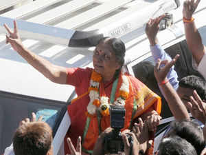 Ninty thousand houses have been allotted to slum dwellers here in two years, Gujarat Urban Development Minister Anandiben Patel today. (BCCL)