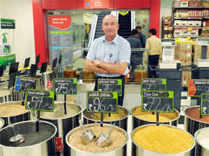 A technical team of Reliance Retail is working on the project and may adopt the marketplace model, a person aware of the development told ET.  In pic: Rob Cissell, CEO, Reliance Retail.