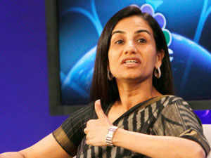 Kochhar, CEO of ICICI bank, has moved up one position from her 5th position on the 2012 list, while NSE's Ramkrishna has made it to the list for the first time.