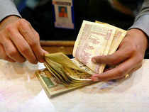 The rupee resumed lower at 61.35 per dollar as against the last weekend's level of 61.27 at the Interbank Foreign Exchange (Forex) Market and dropped further to 61.58 before quoting at 61.53 (1040hrs).