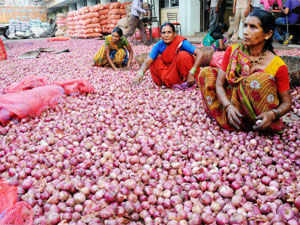 Onion prices continue to remain volatile with the rates shooting up again to Rs 80/kg level in the retail markets of the national capital.