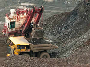 NMDC, the country's largest iron ore mining company has reported a 8% rise in sales of iron ore in the half year ended September 30, 2013