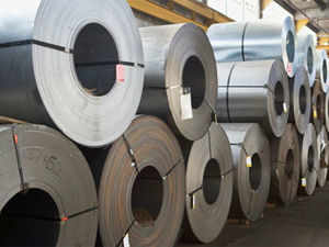 Steel production growth in India fell short of the world average in September with the country clocking 4.7 per cent growth.