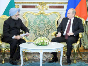 India and Russia today pitched for implementation of the International Monetary Fund (IMF) quota reforms latest by January.