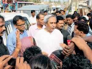 Naveen Patnaik today announced a special package for farmers, fishermen, weavers and students affected by cyclone 'Phailin' and the resultant floods.