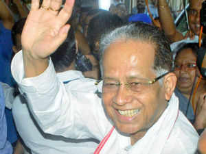 The Congress high command has ordered leaders of both factions in state - the pro Tarun Gogoi one and the one opposing him - to patch up.