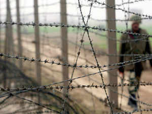 """BJP alleged that Chinese border incursions and repeated ceasefire violations by Pakistan were """"the making"""" of a """"weak"""" Congress-led UPA government"""