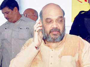 Narendra Modi' aide Amit Shah today questioned why only encounters in Gujarat were being investigated and sought to drag the Prime Minister in the controversy.
