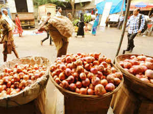 """The price spike in onions upto Rs 90 a kg in the national capital is due to """"monopoly"""" of wholesale traders in the absence of amendment to the APMC Act, a senior Agriculture Ministry official said today."""
