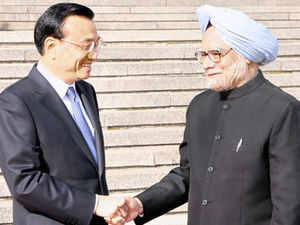 In many ways Singh's visit, dominated by strategic issues like border differences, had a striking informality.