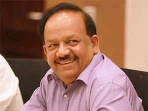 """""""As Health Minister, his (Harsh Vardhan's) trend-setting polio eradication drive made Delhi polio-free & now I am sure he will free Delhi from misgovernance,"""" Modi said."""