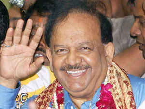 Aam Aadmi party today launched a frontal attack on BJP's chief ministerial candidate for Delhi Harsh Vardhan accusing him of keeping mum over alleged corruption in civic bodies ruled by his party