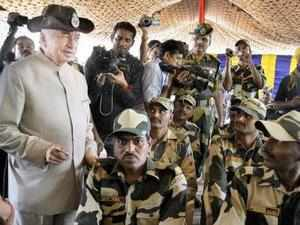 Shinde said additional BSF troops were being sent to man the International Border (IB) in Jammu and Kashmir in the wake of continuing ceasefire violations.