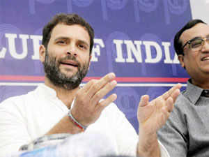 BJP today attacked Congress Vice President Rahul Gandhi for making an emotional pitch to garner votes and claimed he had been compelled to do.