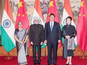 """We are taking forward the suggestion made by Premier Li in New Delhi for a Chinese industrial park to act as a magnet for Chinese investment in India,"""
