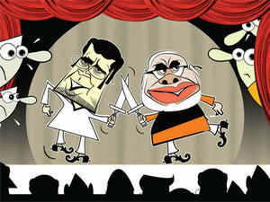 While Modi is the biggest TV star for BJP, the real test for him is to find ways to bridge the gap between the traditional limits on the BJP's reach in the larger India.