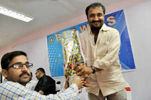 Super 30 run by noted mathematician Anand Kumar has the distinction of preparing children from poor section of society by offering free education.  In pic: Maths wizard and founder of Super 30, Anand Kumar.