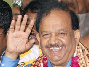 """Harsh Vardhan said a """"clean, transparent and people's government"""" will be in place if voted to power and ruled out any infighting in the party fold."""