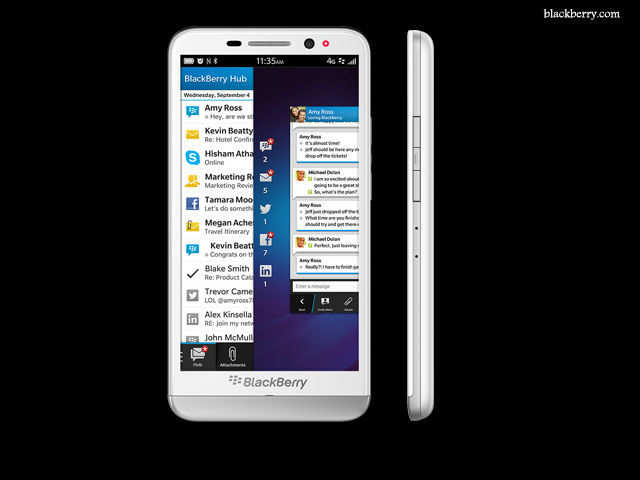 Large battery - BlackBerry Z30 smartphone launched at Rs