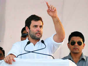Rahul Gandhi reached out to the poor, rural youths in Bundelkhand, hard-selling the UPA's flagship schemes of food security, land acquisition and MNREGA. (BCCL)