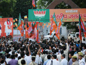 BJP threatened to hit the streets in Uttarakhand if the Lokayukta Act is not implemented in the state in the form in which it has been ratified by President Pranab Mukherjee.