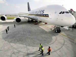 Aviation industry analysts today welcomed the government's approval to Singapore Airlines' proposal to start aviation venture with Tata Sons. (Reuters)