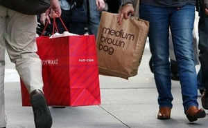 The decline in footfalls could prove to be a double whammy for shopping malls, which which are already suffering from large vacant areas.