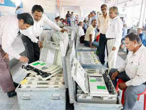 Impressed by their performance, Pakistan has asked the Election Commission of India to provide it electronic voting machines (EVMs) for use in future elections there.