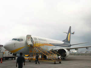 """""""We are working with Etihad bankers... that is expected to happen this quarter,"""" Jet Airways Group CFO Ravishankar Gopalakrishnan said. (BCCL)"""