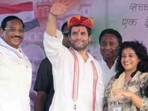 "Congress Vice-President Rahul Gandhi today described his father and former Prime Minister Rajiv Gandhi as his ""hero""."