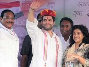 """Congress Vice-President Rahul Gandhi today described his father and former Prime Minister Rajiv Gandhi as his """"hero""""."""