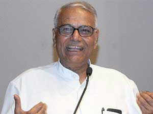 """How is Rahul Gandhi being briefed by Intelligence officers, what right does he have?"" Yashwant Sinha said."