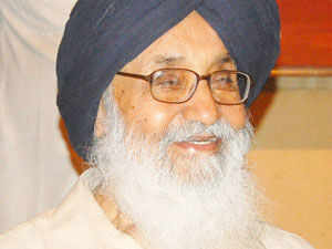 Punjab Chief Minister Parkash Singh Badal today asked its ally BJP to allot SAD's share of seats in the forthcoming Assembly elections in Delhi.