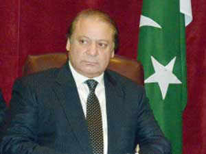 """Pakistan today said it hoped that the controversial drone strikes in its tribal areas will end after Prime Minister Nawaz Sharif's """"successful"""" visit to the US."""