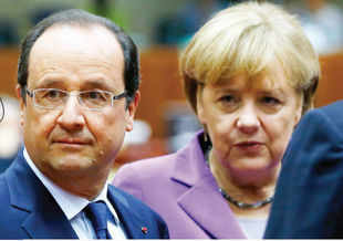 France President François Hollande & German Chancellor Angela Merkel: They issued a joint statement saying that a lack of trust with the US could prejudice intelligence gathering for counter terrorism, and threatening to stall EU-US trade talks